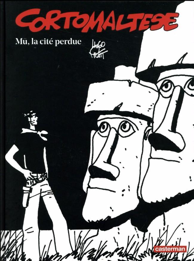 Couverture de Corto Maltese (Noir et blanc relié) -12- Mû la cité perdue