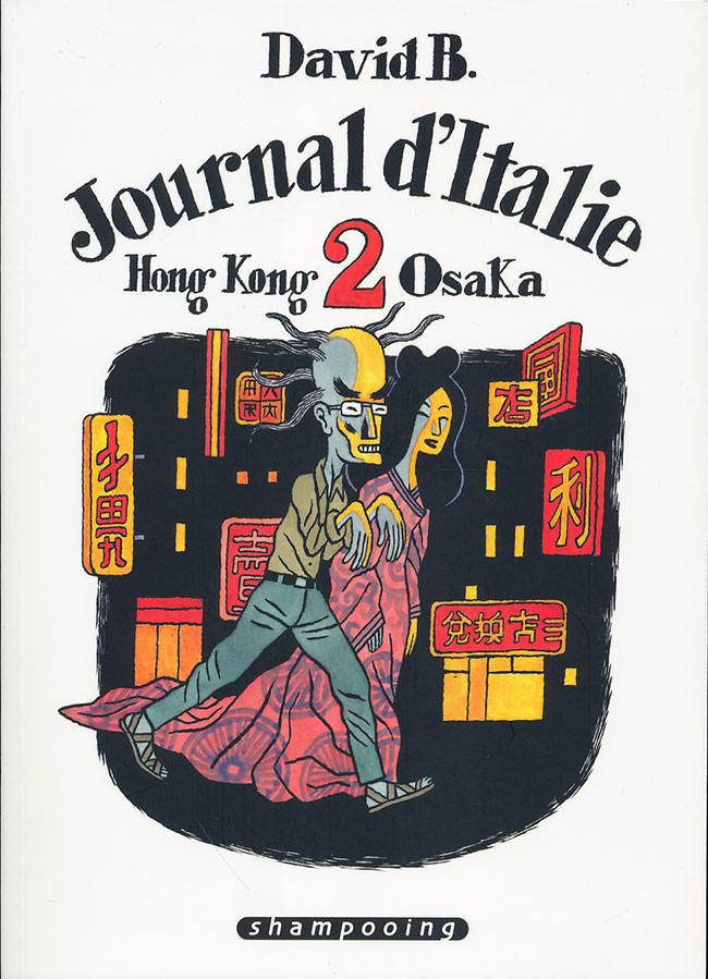 Couverture de Journal d'Italie -2- Hong Kong - Osaka