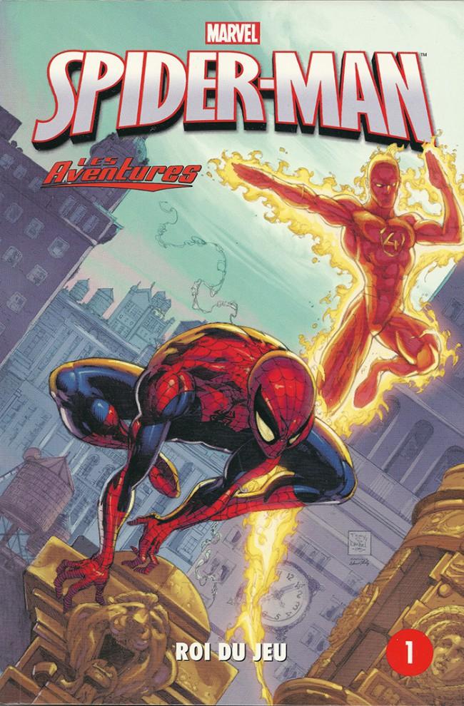 Couverture de Spider-Man - Les aventures (Presses Aventure) -1- Roi du jeu