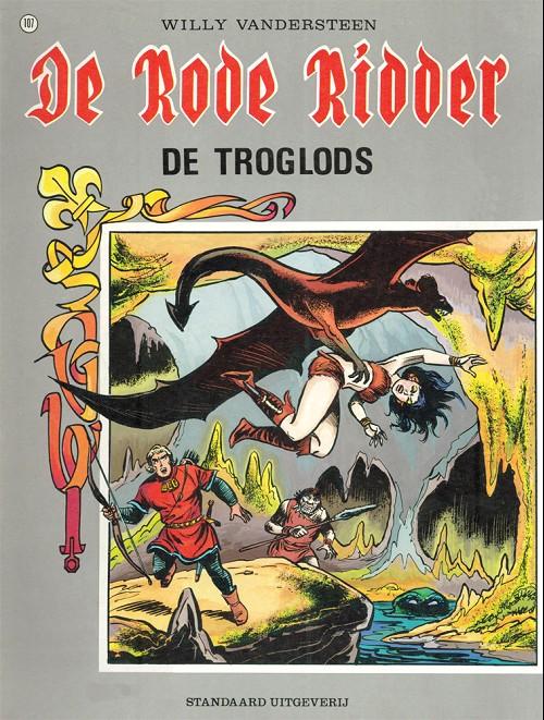 Couverture de Rode Ridder (De) -107- De troglods
