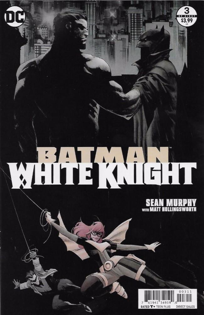 Couverture de Batman: White Knight (2017) -3- Issue 3
