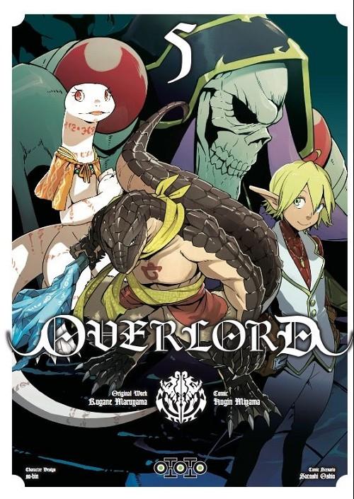 Couverture de Overlord (Oshio/Miyama) -5- Tome 5