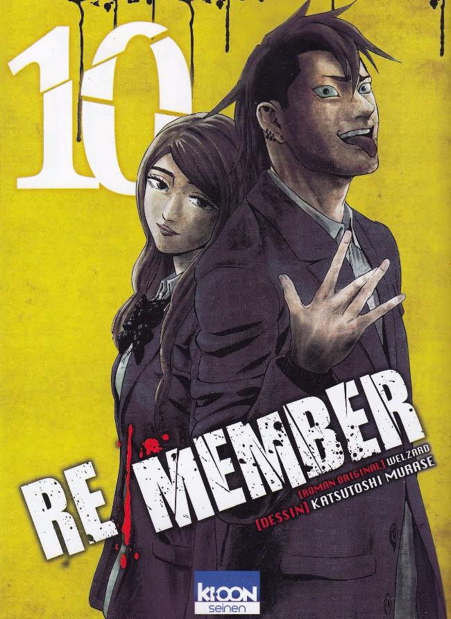 Couverture de Re/Member -10- Tome 10
