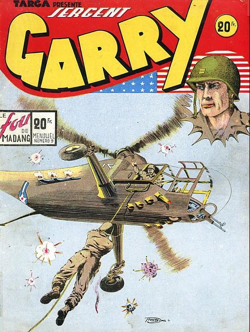 Couverture de Garry -9- Le fou de Madang