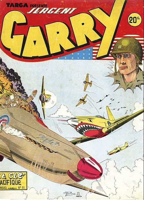 Couverture de Garry -11- La clé du pacifique