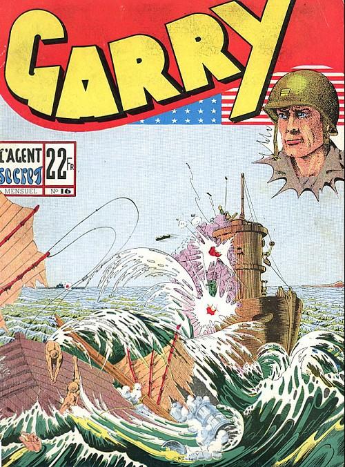 Couverture de Garry -16- L'agent secret