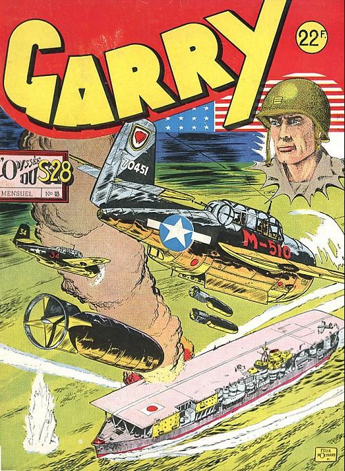 Couverture de Garry -18- L'odysée du S-28