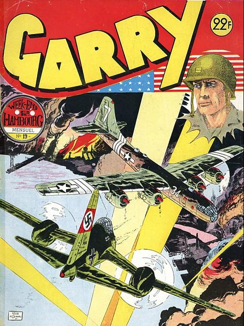 Couverture de Garry (sergent) (Imperia) (1re série grand format - 1 à 189) -19- Week-end sur Hambourg