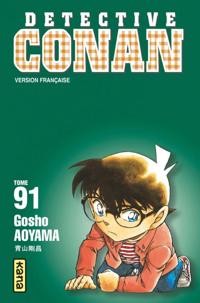 Couverture de Détective Conan -91- Tome 91