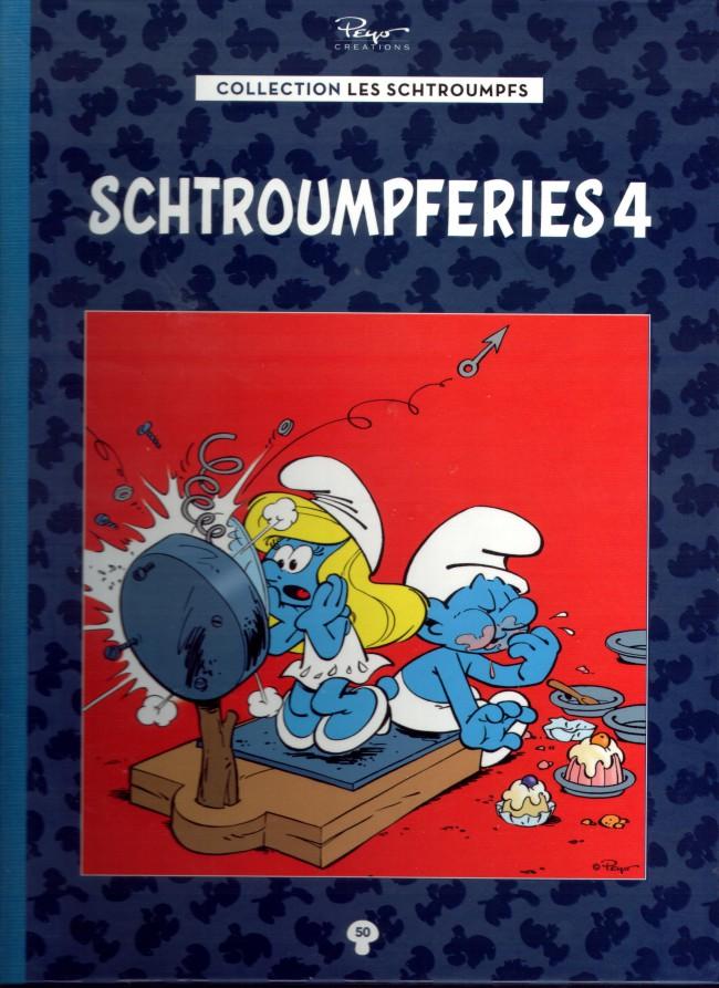 Couverture de Les schtroumpfs - La collection (Hachette) -50- Schtroumpferies 4