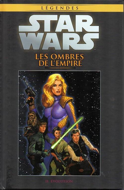 Couverture de Star Wars - Légendes - La Collection (Hachette) -5560- Les ombres de l'empire - II. Evolution