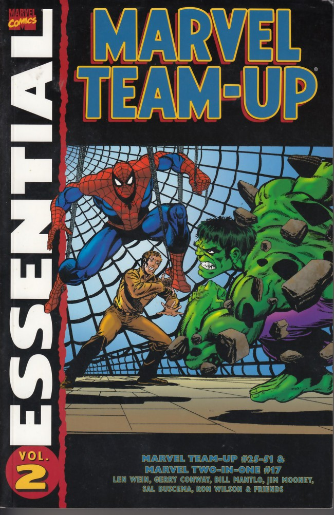 Couverture de Essential Marvel Team-Up (2002) -2- marvel team-up volume 2