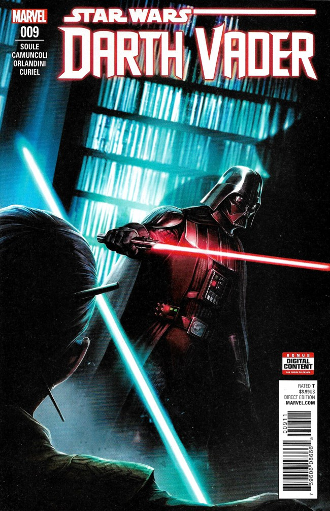 Couverture de Darth Vader (2017) -9- The Dying Light Part III