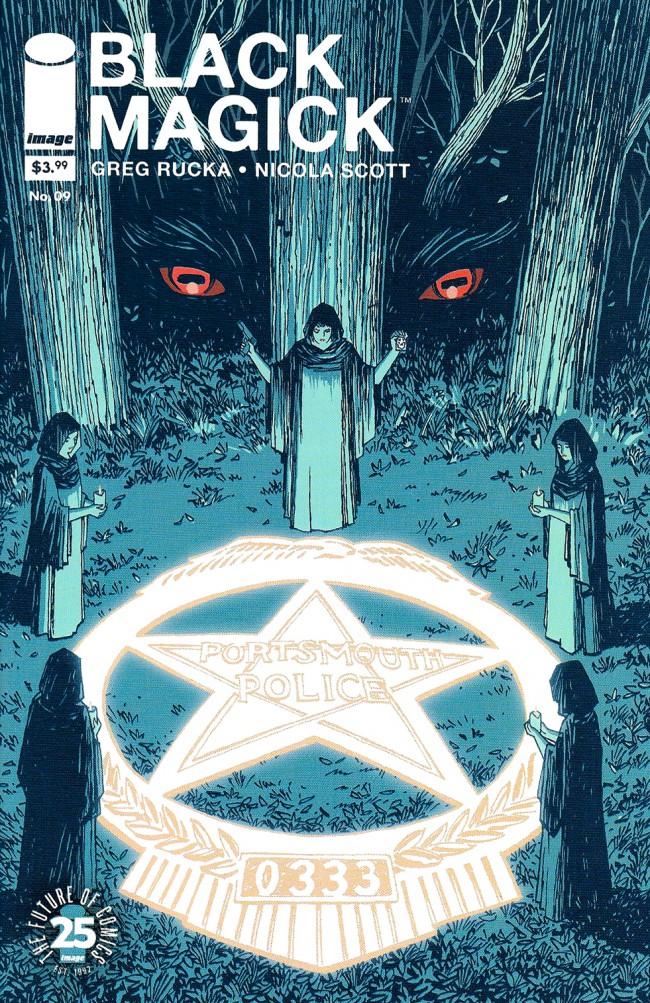 Couverture de Black Magick (2015) -9B- Awakening II, part 4