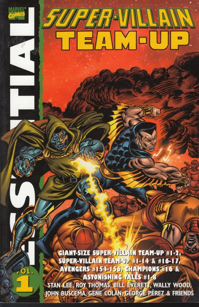 Couverture de Essential Super-Villain Team-Up (2004) -INT01- Essential Super-Villain Team-Up Volume 1