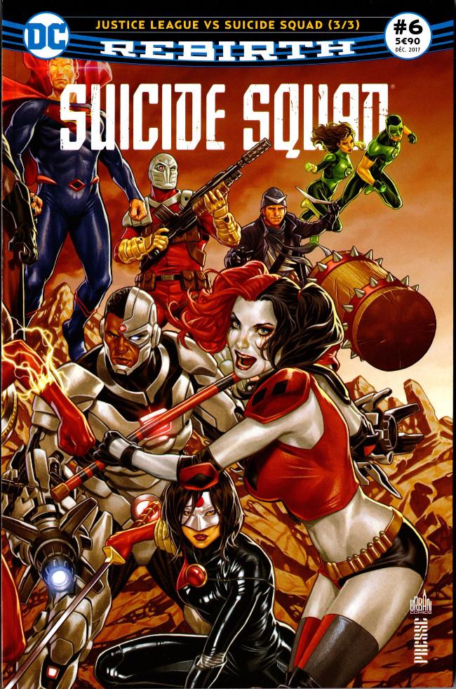 Couverture de Suicide Squad Rebirth (DC Presse) -6- Justice League vs Suicide Squad (3/3)