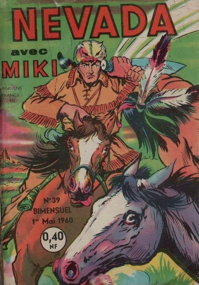 Couverture de Nevada (LUG) -39- Miki le ranger