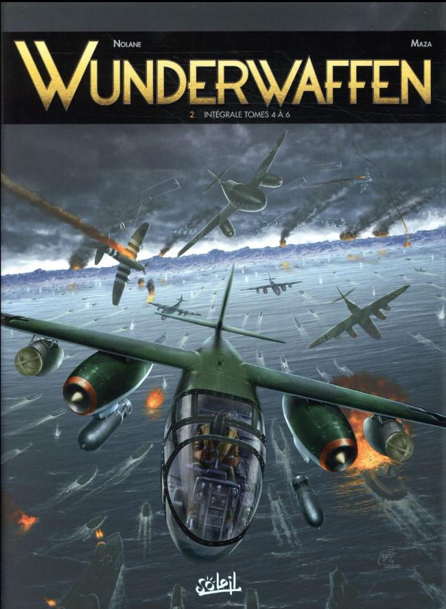 Couverture de Wunderwaffen -INT02- Intégrale tomes 4 à 6