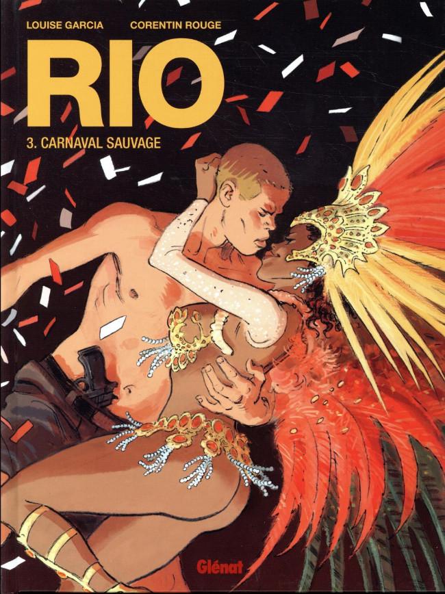 Couverture de Rio (Rouge/Garcia) -3- Carnaval sauvage