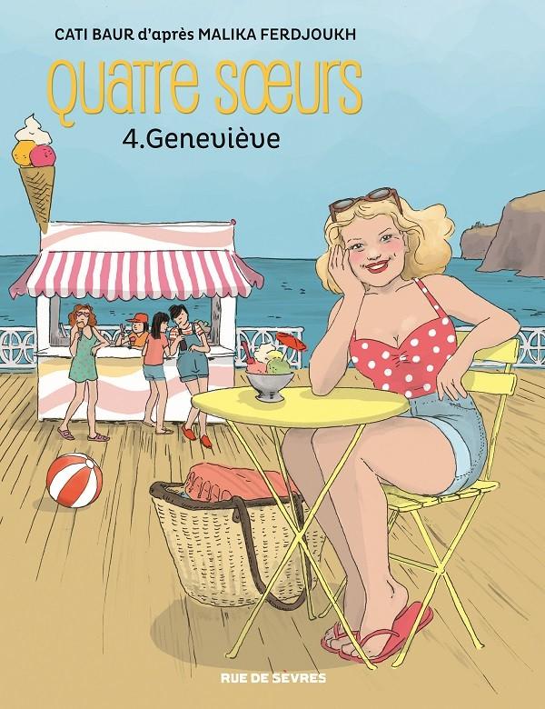 Couverture de Quatre sœurs (Baur) -4- Geneviève
