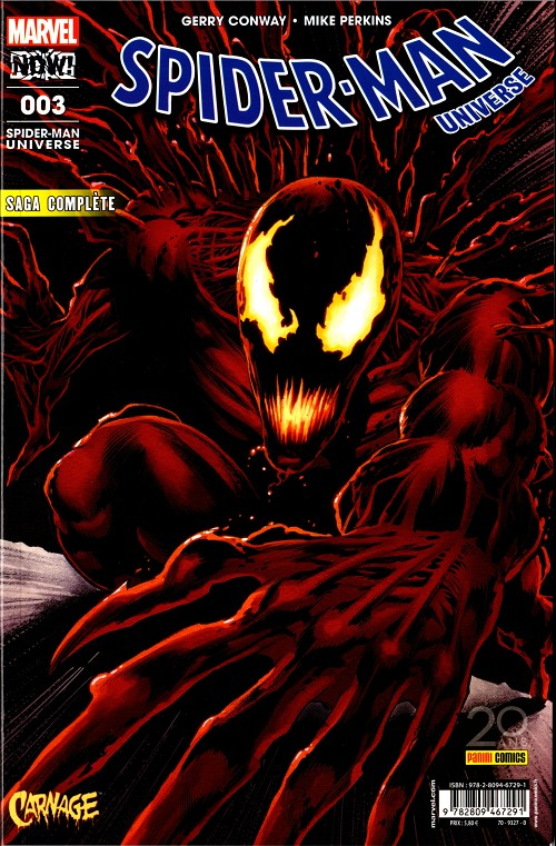 Couverture de Spider-Man Universe (Marvel France 3e série) -3- Le monde obscur