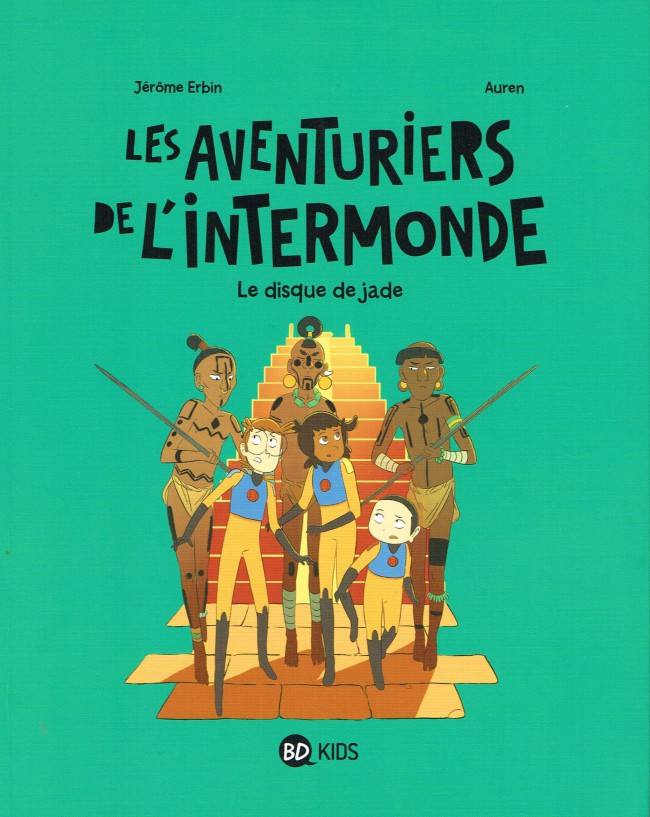 Couverture de Les aventuriers de l'intermonde -4- Le Disque de jade