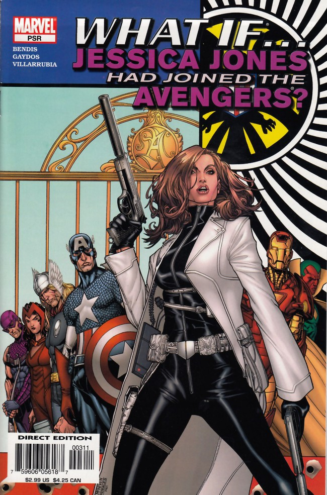 Couverture de What If... (2005) - What if Jessica Jones had joined the avengers ?