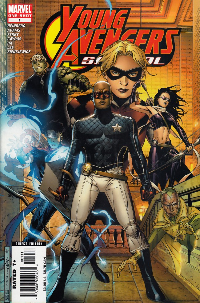 Couverture de Young Avengers (2005) -SP01- Young avengers special #1