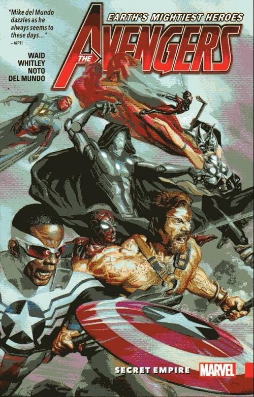Couverture de Avengers Vol.7 (Marvel comics - 2017) -INT02- Secret empire