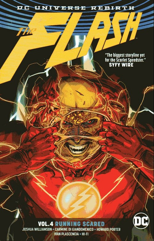 Couverture de Flash (The) (2016) -INT04- Running Scared