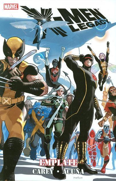 Couverture de X-Men Legacy (2008) -INT04- Emplate