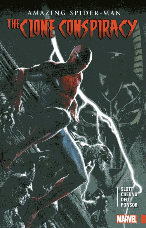 Couverture de Amazing Spider-Man (The) (2015) -INT- The clone conspiracy
