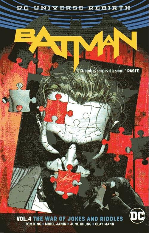Couverture de Batman (DC Comics - 2016) -INT04- Vol.4 The War of Jokes and Riddles