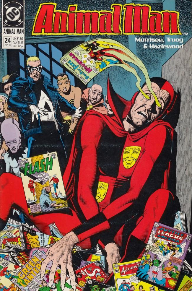 Couverture de Animal Man Vol.1 (DC comics - 1988) -24- Purification Day