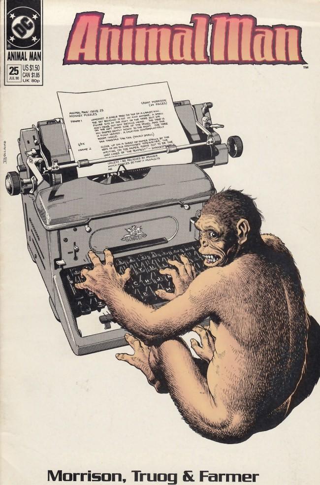 Couverture de Animal Man Vol.1 (DC comics - 1988) -25- Monkey Puzzles