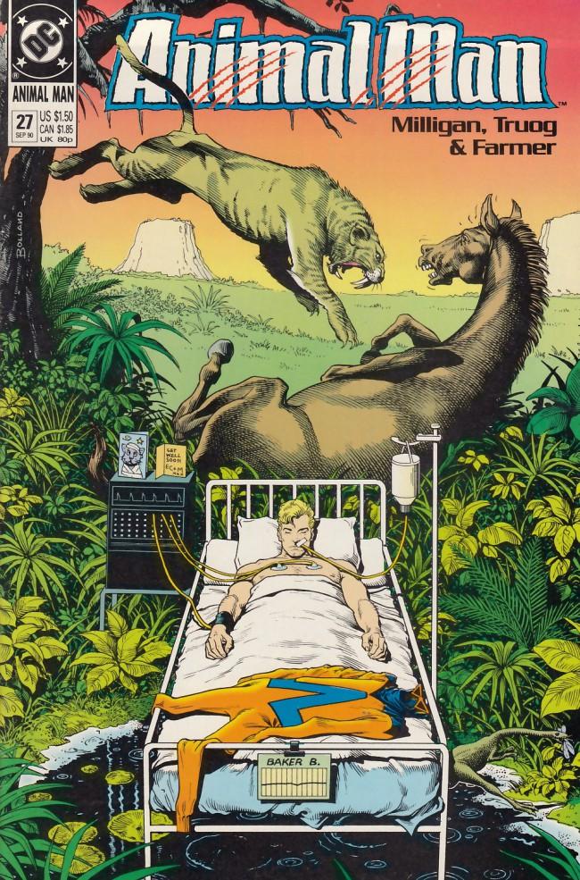 Couverture de Animal Man Vol.1 (DC comics - 1988) -27- The Coma Kid
