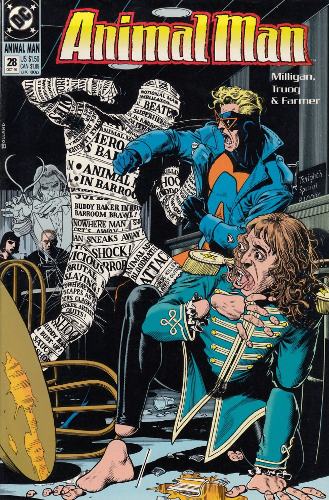 Couverture de Animal Man Vol.1 (DC comics - 1988) -28- The Naked Afternoon Snack