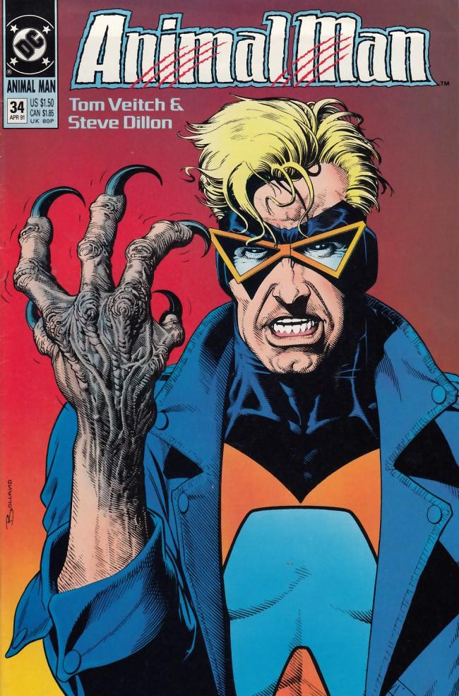 Couverture de Animal Man Vol.1 (DC comics - 1988) -34- Requiem for a Bird of Prey