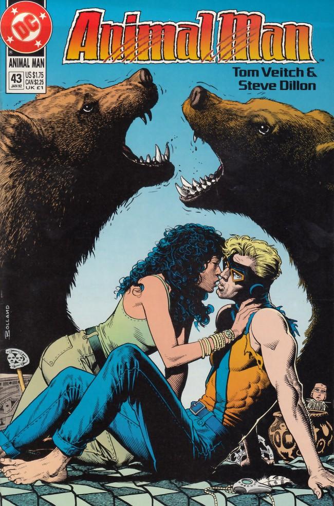 Couverture de Animal Man Vol.1 (DC comics - 1988) -43- Tiger, Tiger, Burning Bright