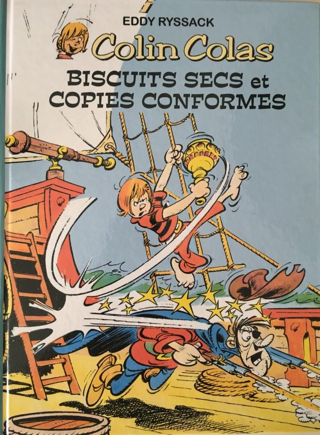 Couverture de Colin Colas -2- Biscuits secs et copies conformes