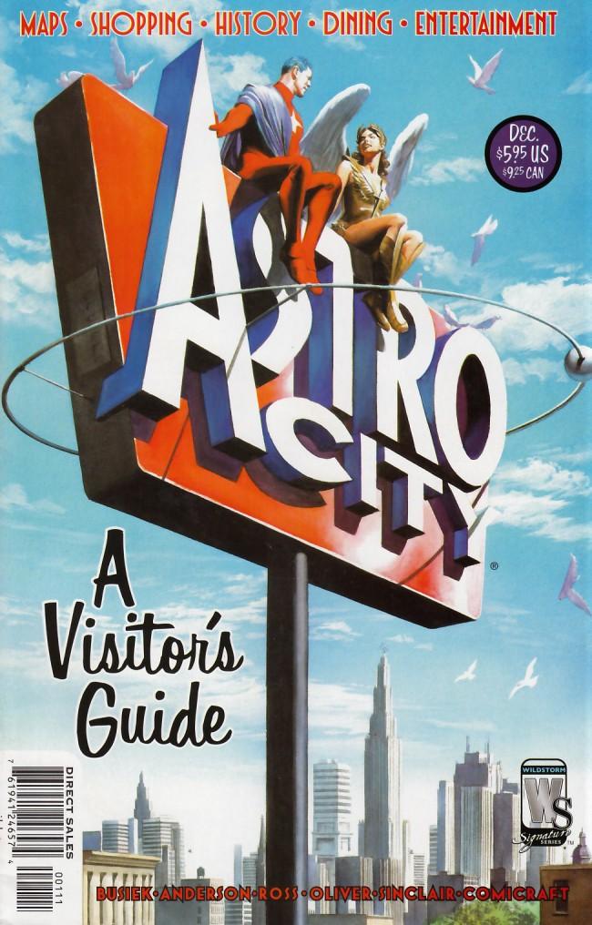Couverture de Astro City A Visitors Guide (2004) - Astro City: A visitor's guide