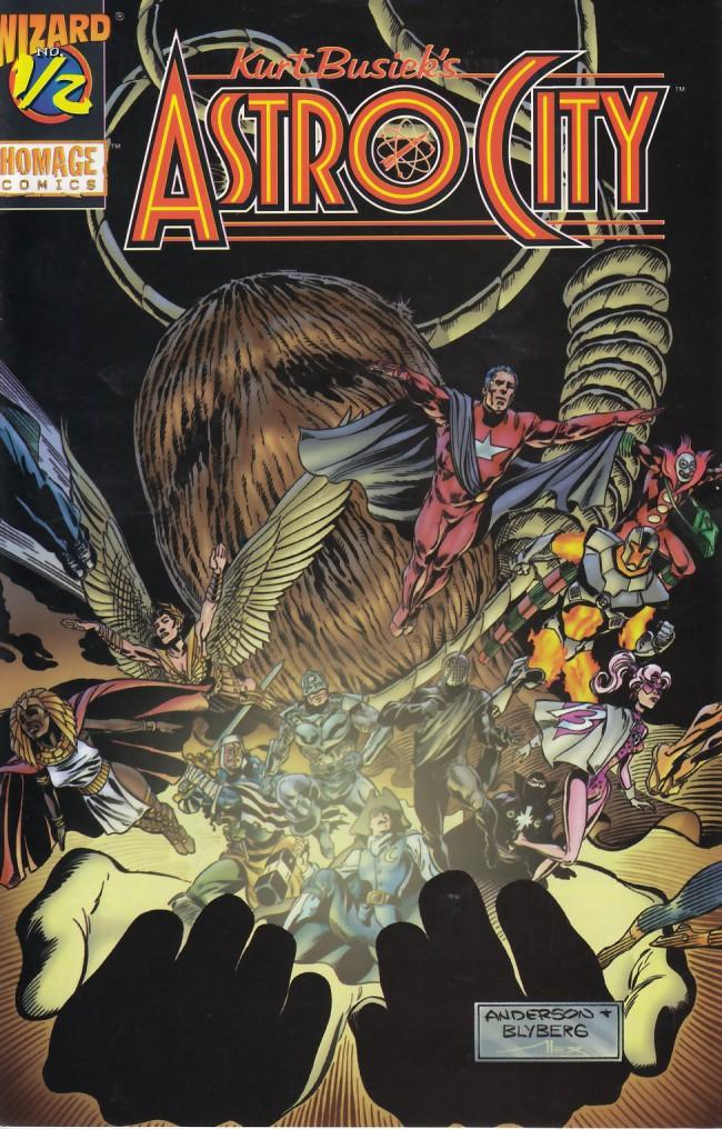 Couverture de Kurt Busiek's Astro City (1996) -1/2- The Nearness of You (Wizard edition)