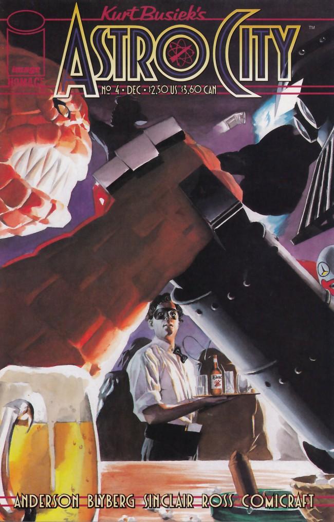 Couverture de Kurt Busiek's Astro City (1996) -4- New Kid in Town
