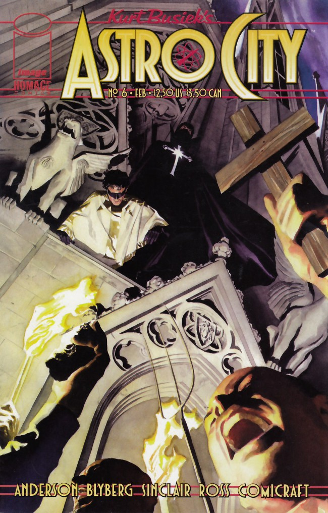Couverture de Kurt Busiek's Astro City (1996) -6- The Gathering Dark