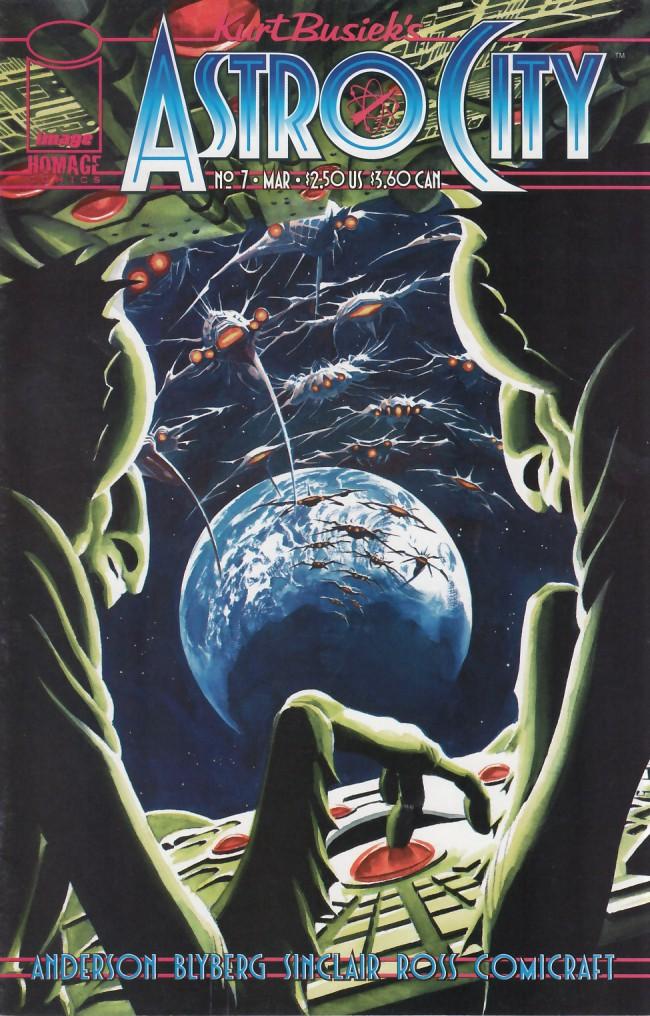 Couverture de Kurt Busiek's Astro City (1996) -7- Eye of the Storm