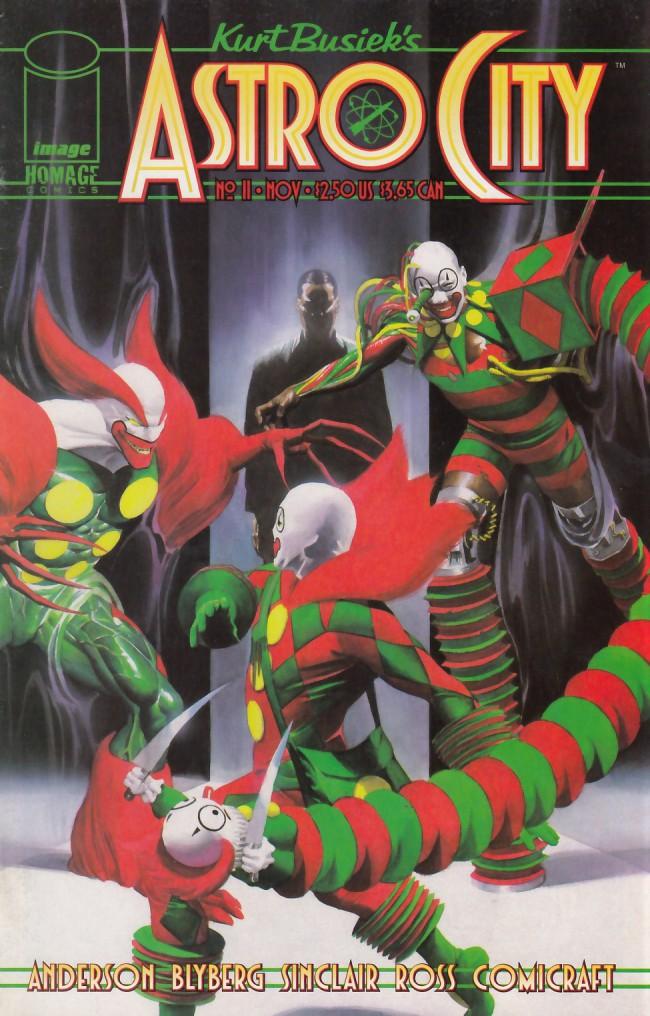 Couverture de Kurt Busiek's Astro City (1996) -11- Serpent's Teeth