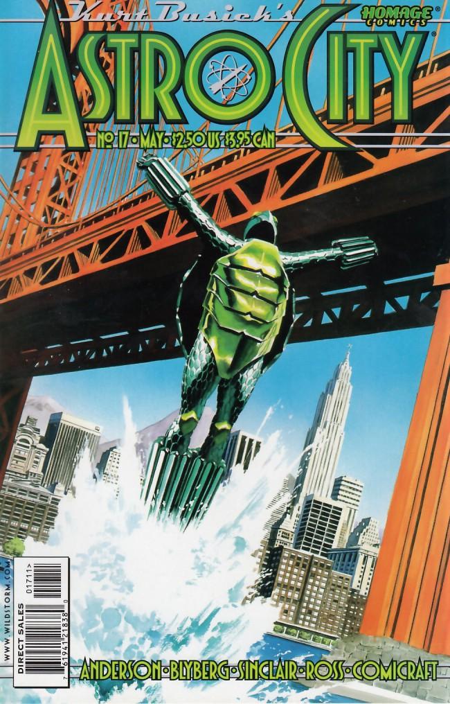 Couverture de Kurt Busiek's Astro City (1996) -17- The Voice of the Turtle