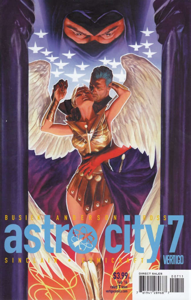 Couverture de Astro City (2013) -7- The view from above