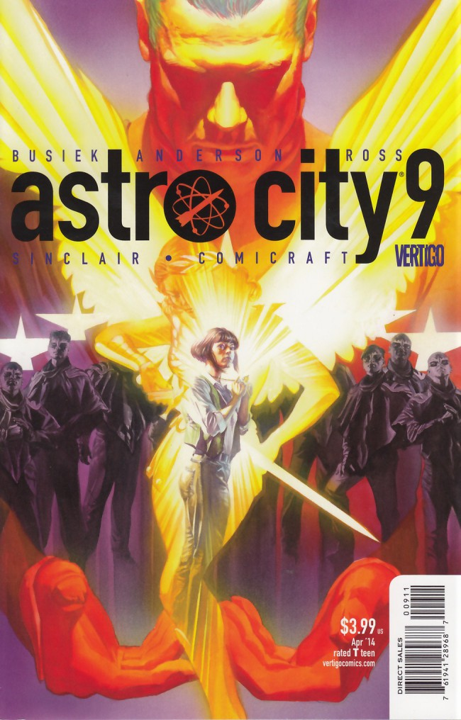 Couverture de Astro City (2013) -9- The view from the heart