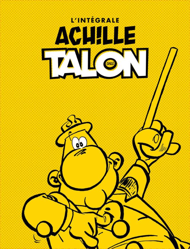 Couverture de Achille Talon -INT en Cof- L'Intégrale Ach!lle Talon